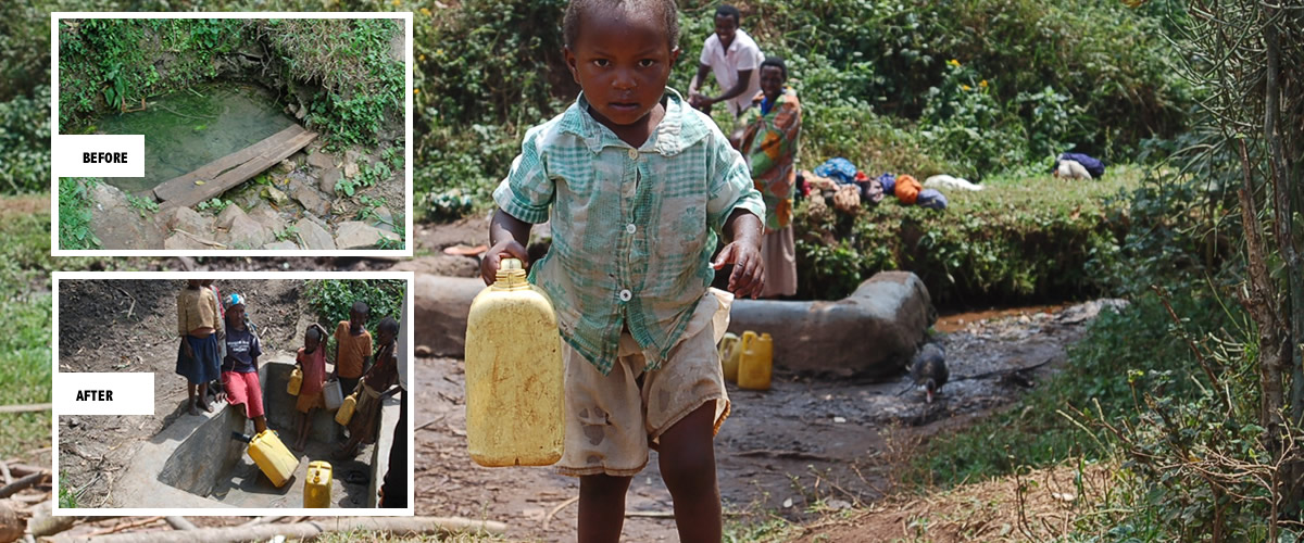 bakiga water project